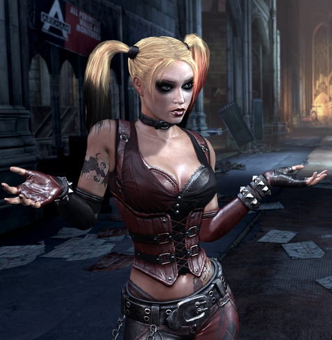 Opinion harley quinn naked game version